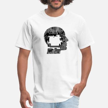 Geek Cranium - Men's T-Shirt