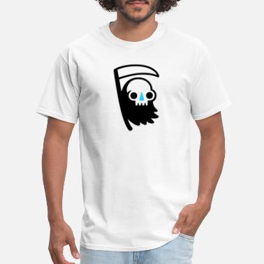 Cartoon Cute Quotes Reaper Dude Cartoon Funny Cute - Men's T-Shirt