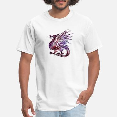 Purple Dragon Purple Dragon - Men's T-Shirt