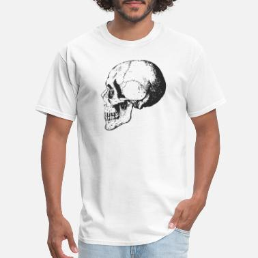 Skull Skeleton Skeleton skull - Men's T-Shirt