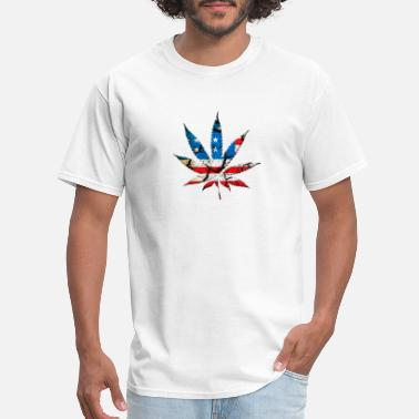 Dope United States USA WEED - Men's T-Shirt