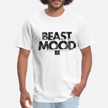beast mood on - Men's T-Shirt