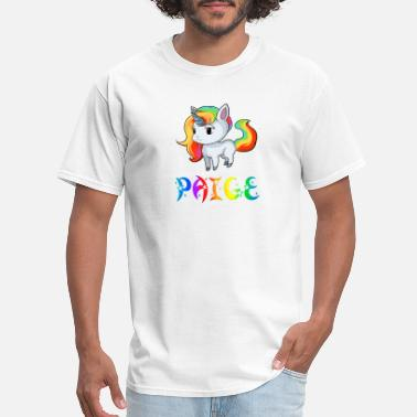 Paige Paige Unicorn - Men's T-Shirt