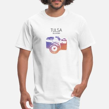 Tulsa Camera Tulsa - Men's T-Shirt