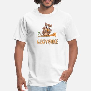 Giovanni Giovanni Owl - Men's T-Shirt