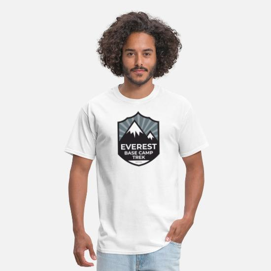 Base T-Shirts - Mount Everest Base Camp Trek - Nepal - Men's T-Shirt white