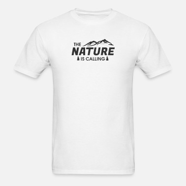 b14a12602 Nature is calling Men's Premium T-Shirt | Spreadshirt
