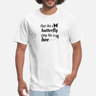 Mohammad float like a butterfly sting like a bee tee tshirt - Men's T-Shirt