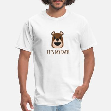 Bithday bear bithday - Men's T-Shirt