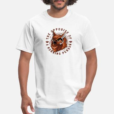 Caffeine Grumpy In The Morning Grumpy in the morning person night owl coffee - Men's T-Shirt