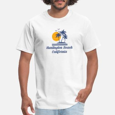 Huntington Huntington Beach California Shirt CA Tourist Gifts - Men's T-Shirt