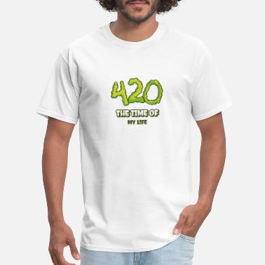 Recreation Cannabis time - Men's T-Shirt