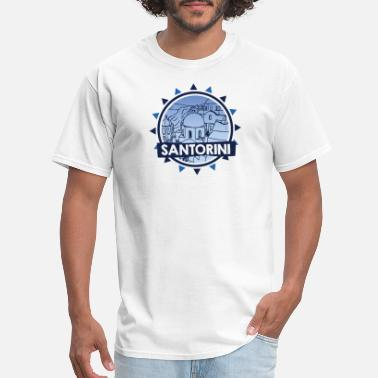 Santorini Santorini - Thira Greece Shirt - Men's T-Shirt