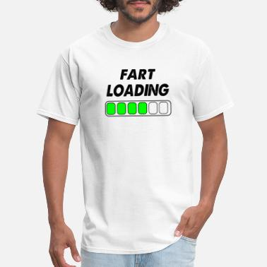 Farting Boys fart loading - Men's T-Shirt