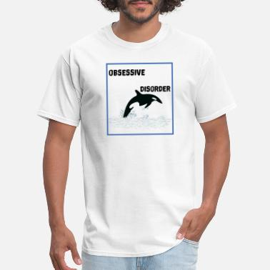 Jaws Orca Disorder for Men, Women and Kids - Men's T-Shirt