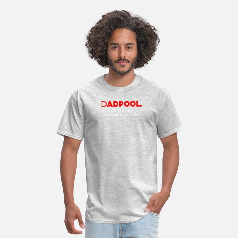 #1 dadpool dans le monde Deadpool Pères Jour Adulte T Shirt