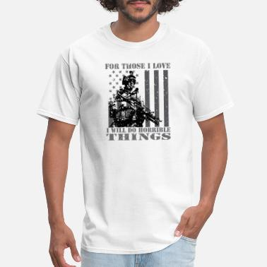 Cold War Kids Veterans T Shirts - Patriotic Patriotism Patriots - Men's T-Shirt