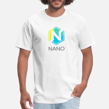 Formerly NANO (XRB) Distressed Tshirt (Formerly RaiBlocks) - Men's T-Shirt