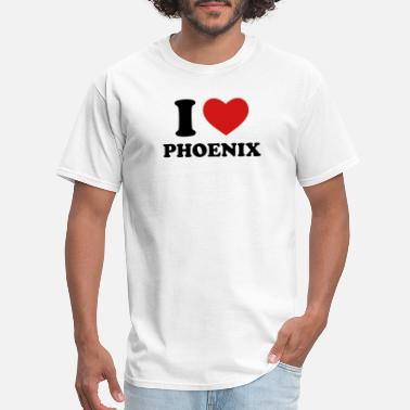 Phoenix I Love Phoenix - Men's T-Shirt