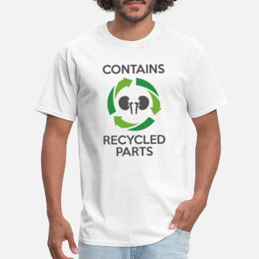 Contains Recycled Parts - Men's T-Shirt