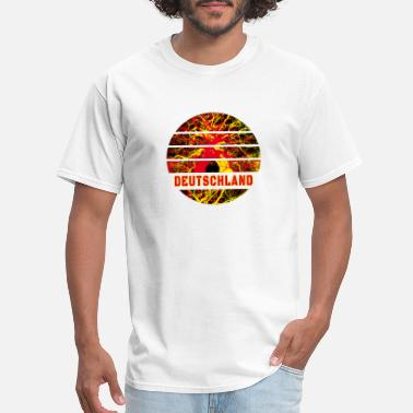 National Colours Germany Abstract / Gift National Colours - Men's T-Shirt