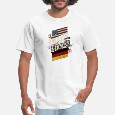 American Grown German Roots American Grown with German Roots - Men's T-Shirt