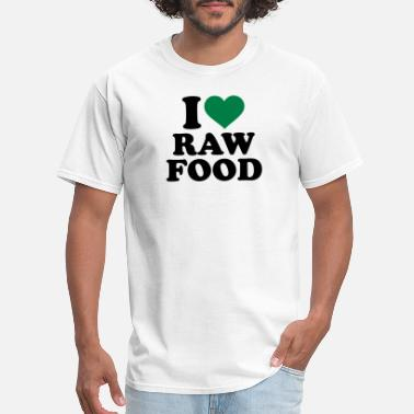Raw Raw food - Men's T-Shirt