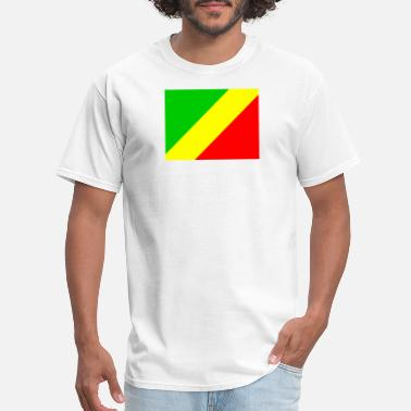 Cg Flag of Congo (cg) - Men's T-Shirt