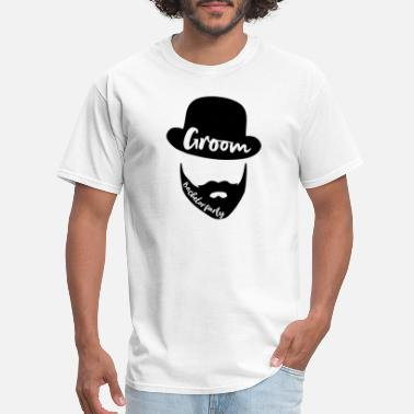Bearded Groom Groom, Bachelor / Groom / Bachelor Party / - Men's T-Shirt