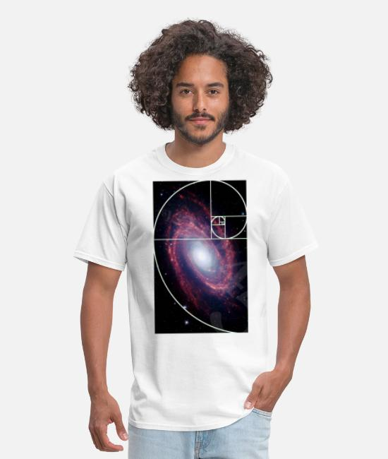 Hipster T-Shirts - Language of the Universe - Men's T-Shirt white
