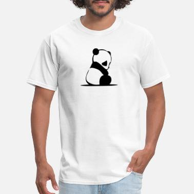 Sad Sad Panda - Men's T-Shirt