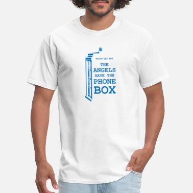 Box Angels Have The Phone Box - Men's T-Shirt