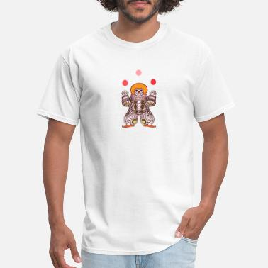 Juggle Clown Clown Juggling - Men's T-Shirt