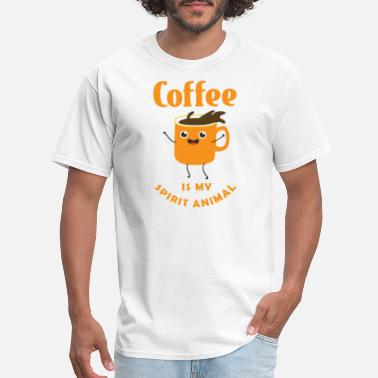 Coffee Is My Spirit Animal - Men's T-Shirt