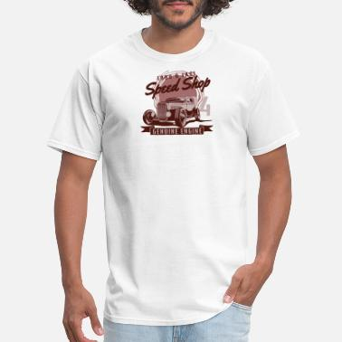 Fast Loud Loud and Fast Genuine Engine - Men's T-Shirt