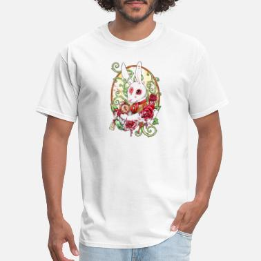 White Rabbit Rabbit White - Men's T-Shirt