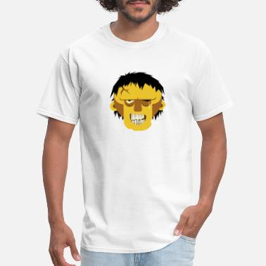 Grinning Zombie - Men's T-Shirt