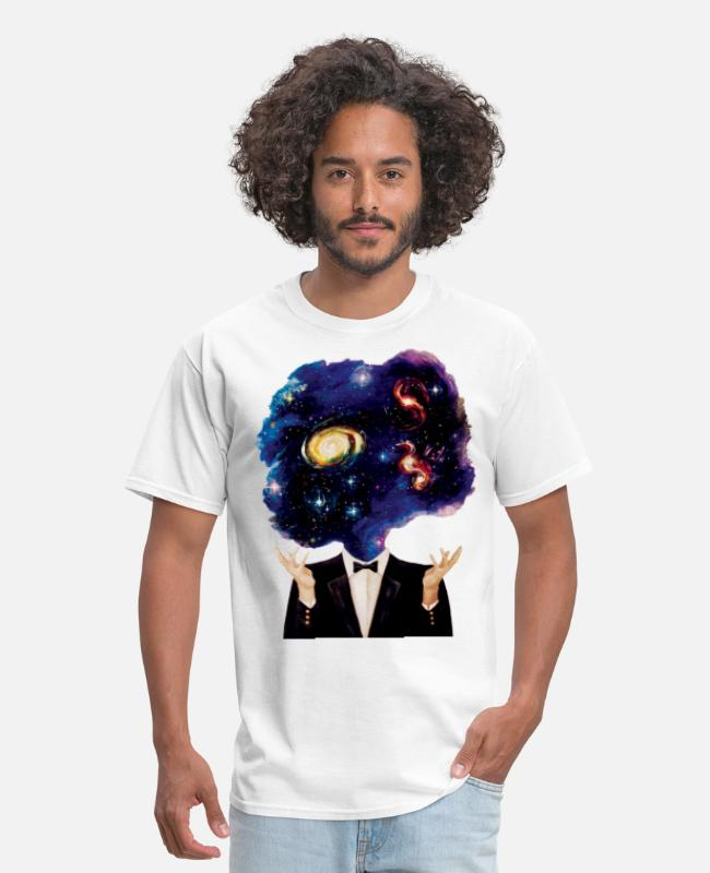 Space T-Shirts - head space - Men's T-Shirt white