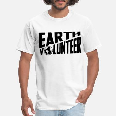 Galactec Fire - Earth Volunteer - Men's T-Shirt