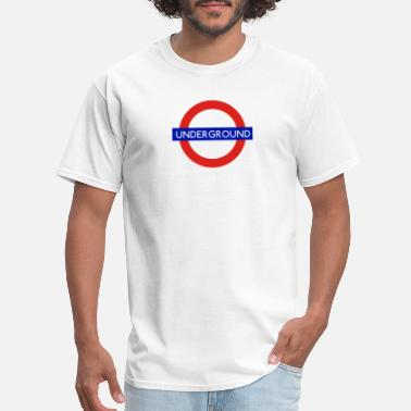 London Underground Underground London - Men's T-Shirt