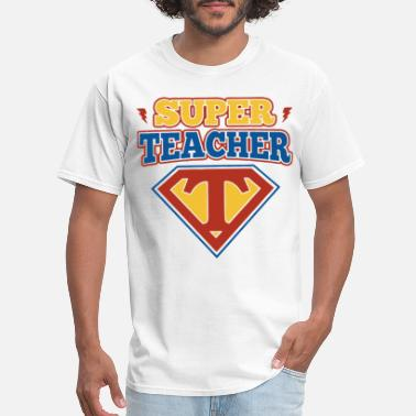 K B K Logo super teacher logo school student career student b - Men's T-Shirt