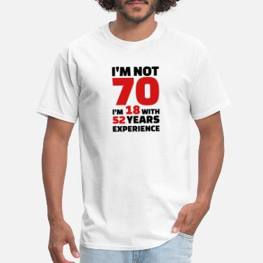 1bbbe5153 Shop 70th Birthday T-Shirts online | Spreadshirt