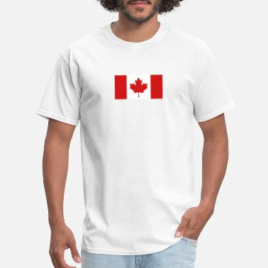 East Vancouver National Flag Of Canada - Men's T-Shirt