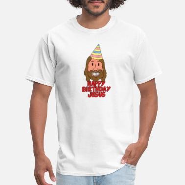 Happy Birthday Jesus happy birthday jesus - Men's T-Shirt