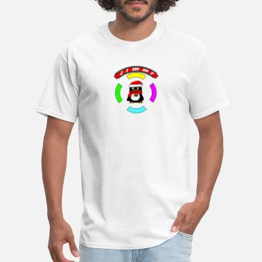 Fancy Penguin Fancy Boots Ring - Men's T-Shirt