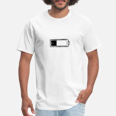 Electrical Symbols Hand Drawing Battery, Electricity, icons, Symbols - Men's T-Shirt