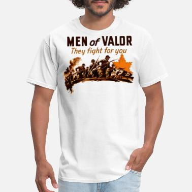World War 2 Tanks Men of Valor World War 2 Shirt - Men's T-Shirt