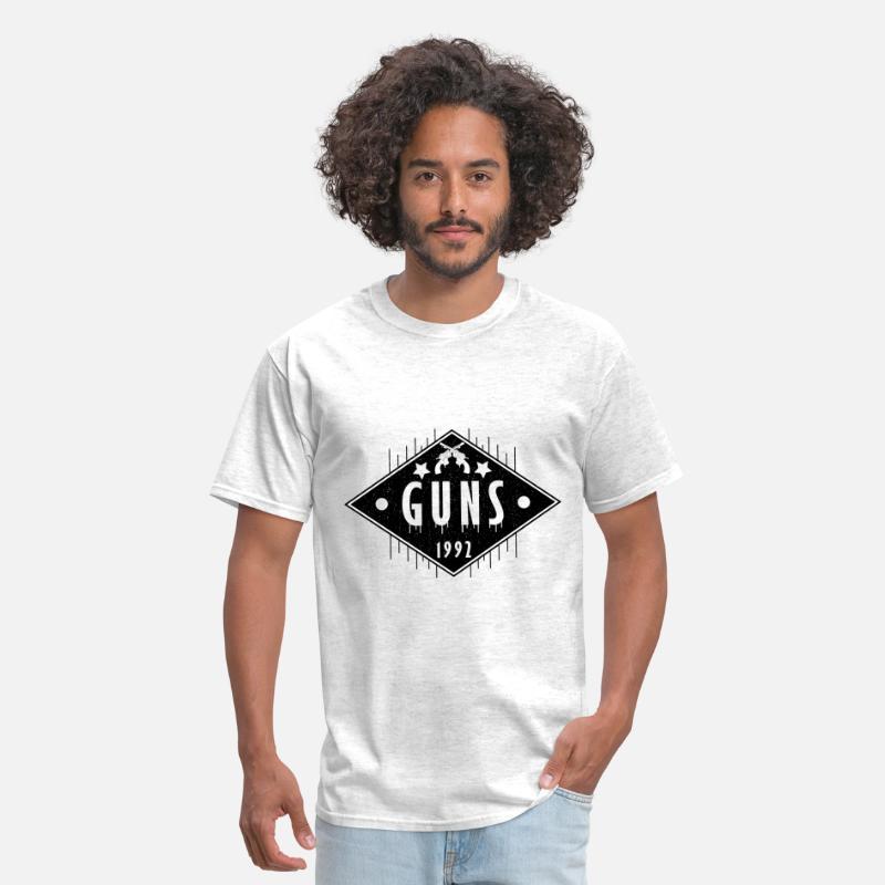 e054add6 Guns, funny workout shirt, gym shirt, yoga shirt, Men's T-Shirt ...