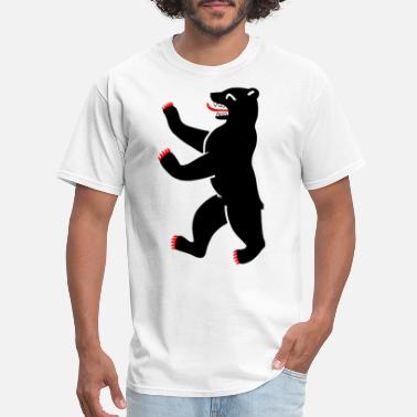 Drunk Berlin Berlin bear - Men's T-Shirt