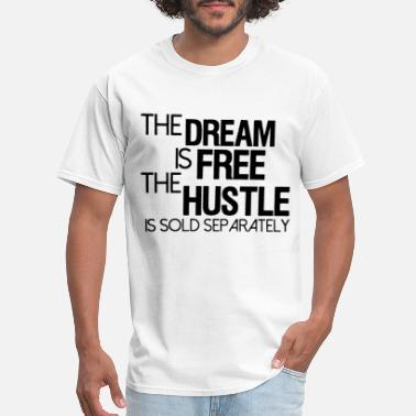 Stay Humble Hustle Hard Mens Womens Inspirational Quotes Slogans Inspiring - Men's T-Shirt